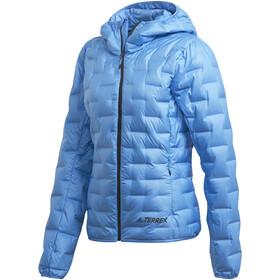 adidas TERREX Light Giacca piumino con cappuccio Donna, real blue